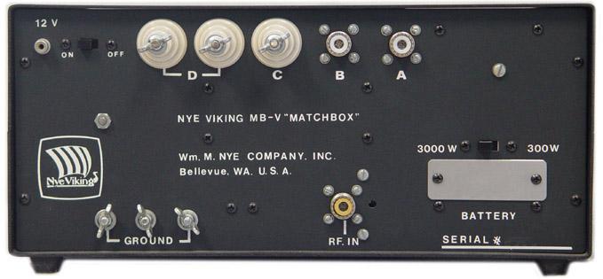 Nye Viking Mb V Nye Viking Mbva Antenna Tuner