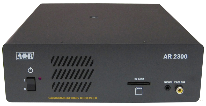 AOR AR 2300 - компактный широкополосный управляемый с ПК сканирующий приемник ( black box receiver ) , работающий в...