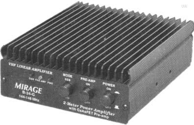 Mirage B34G amp