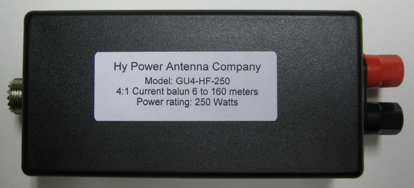 The Hy Power Gu4 Hf 250 Is A 4 1 Guanella Current