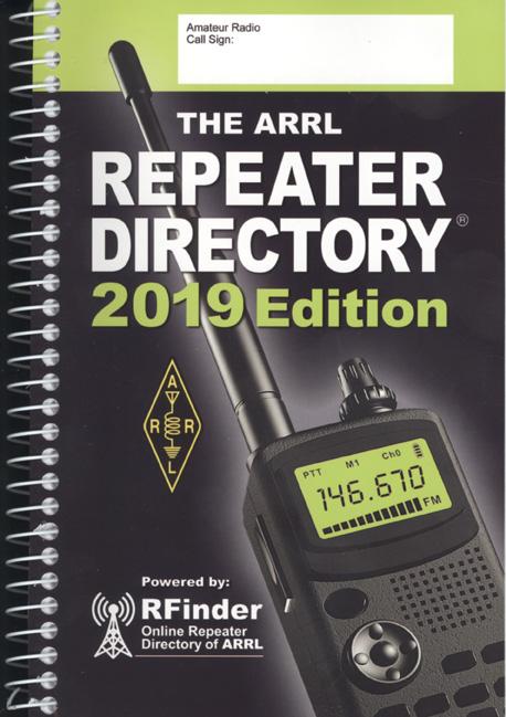 ARRL Repeater Directory 2019,