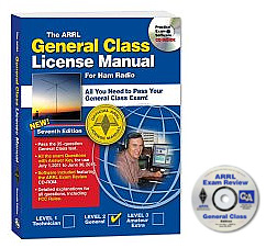 ARRL General Class License Manual with CD #8119