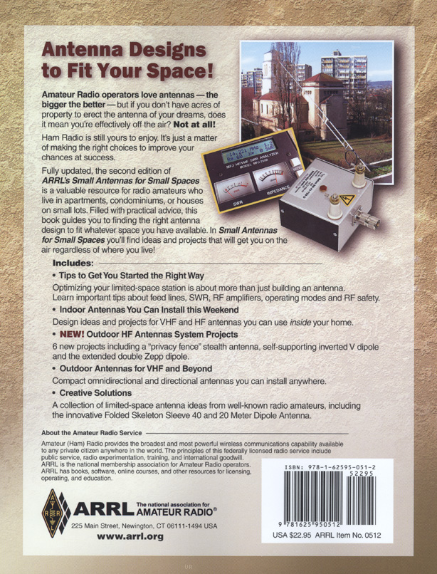 Small Antennas for Small Spaces - Second Edition by Steve Ford WB8IMY