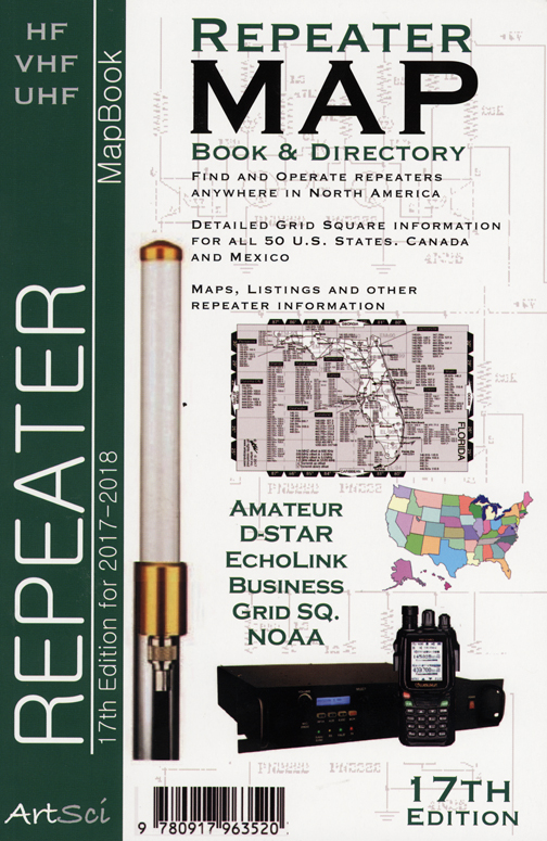 Repeater Map Book Amp Directory 17th Edition By Bill Smith