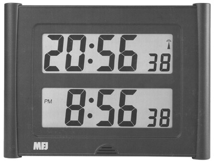 MFJ121 Dual Atomic Clock