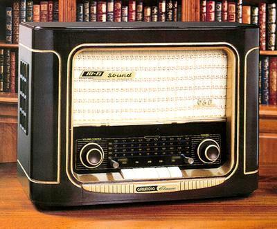 Grundig Classic 960 Anniversary Radio