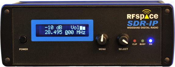 RFspace SDR-IP Software Defined Receiver SDRIP