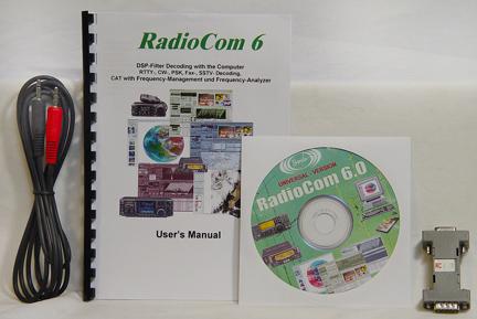 Bonito RadioCom Software 6RX