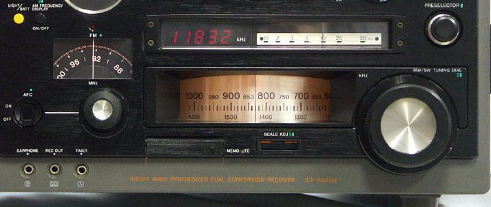 Sony Icf 6800w Receiver Icf6800