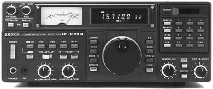 Icom R71, Icom R-71A Receiver ic-r71
