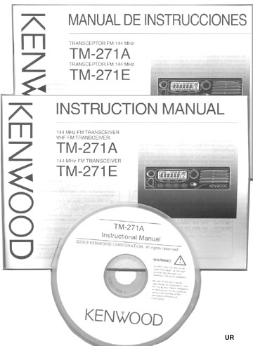 Kenwood TM 271A Manuals