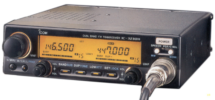 Icom IC-3230A Transceiver, Icom IC-3230H