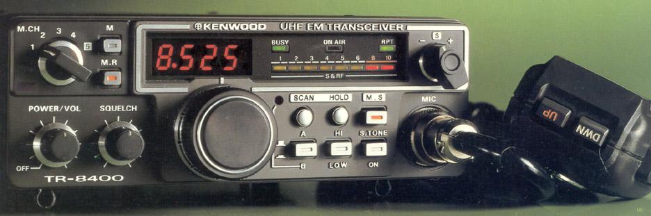 Kenwood Tr 8400 Mobile Transceiver Tr8400