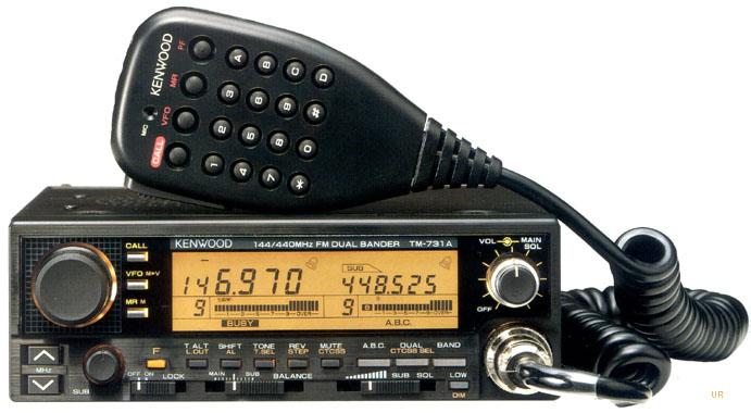 Kenwood TM-731A, Kenwood TM-631A, Kenwood tm731 transceiver
