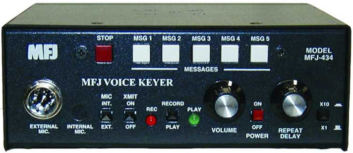 Mfj 434 Contest Voice Keyer