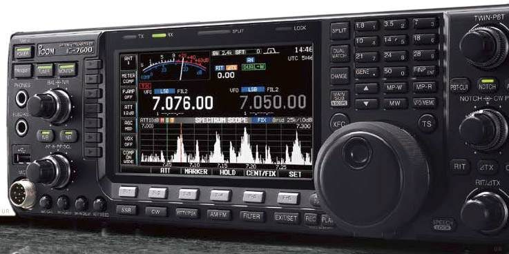 Icom Ic 7600 Amateur Transceiver Icom 7600