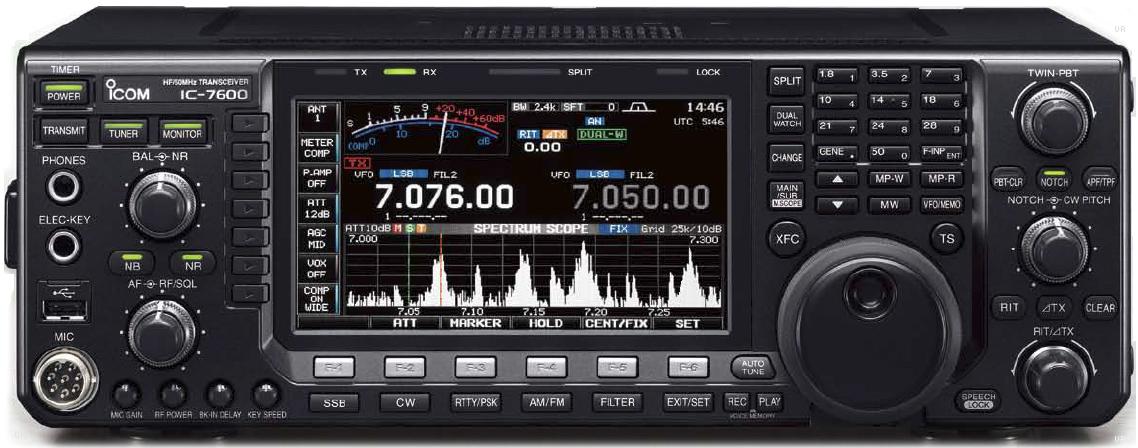 icom ic 7600 amateur transceiver icom 7600 rh universal radio com icom ic-7600 service manual icom 7600 manual español