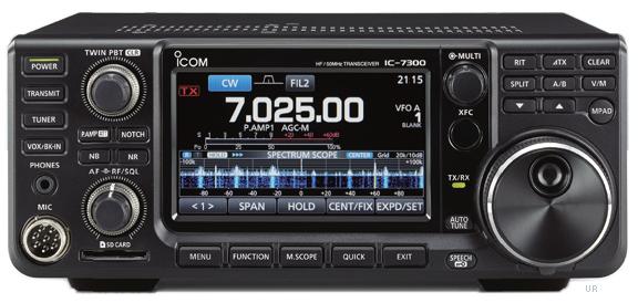 ICOM IC7300 : Nouvel émetteur-récepteur à FPGA 0173