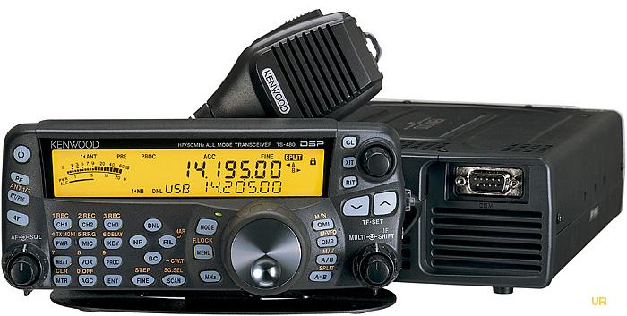 Kenwood TS-480SAT and TS-480HX Transceivers TS480