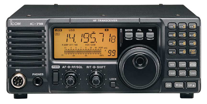 Icom IC-718, Icom 718 Amateur Transceiver