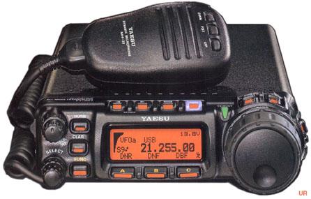 Yaesu FT-857, Yaesu FT857 Amateur Transceiver