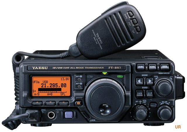 Yaesu FT-897D Amateur Transceiver FT897D