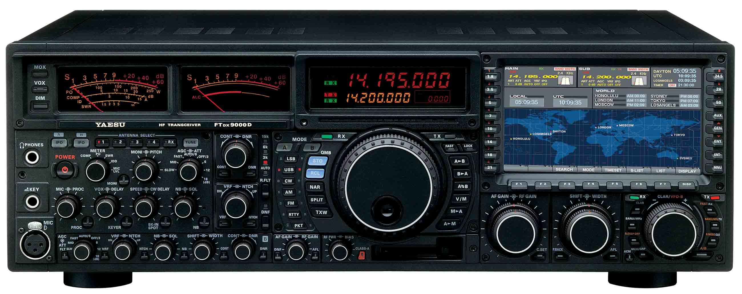 ... Very Large | Rear Panel. Yaesu FT-DX9000