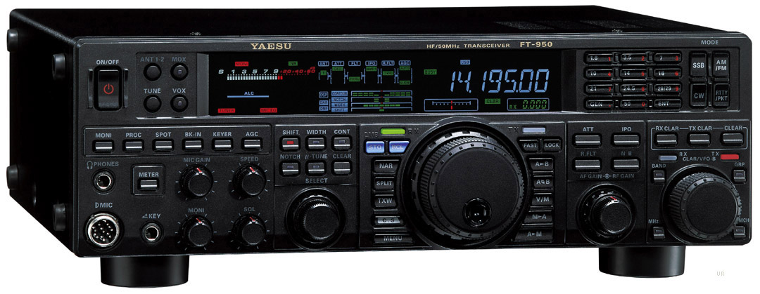 For sale yaesu ft-950 transceiver with factory firmware update.