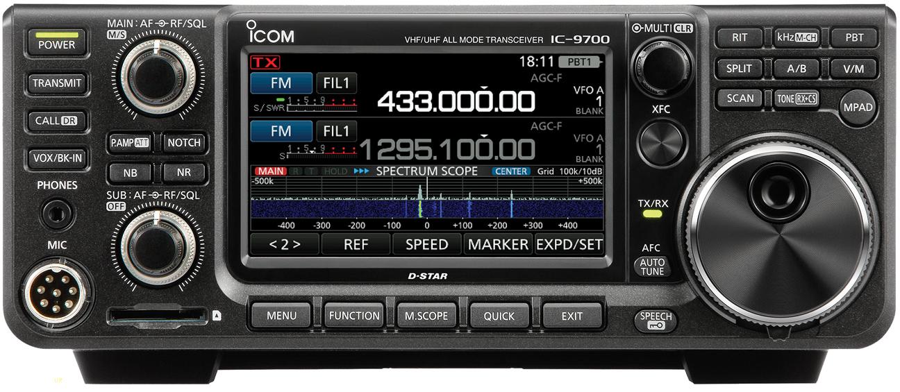 Icom IC-9700 Transceiver, Icom 9700