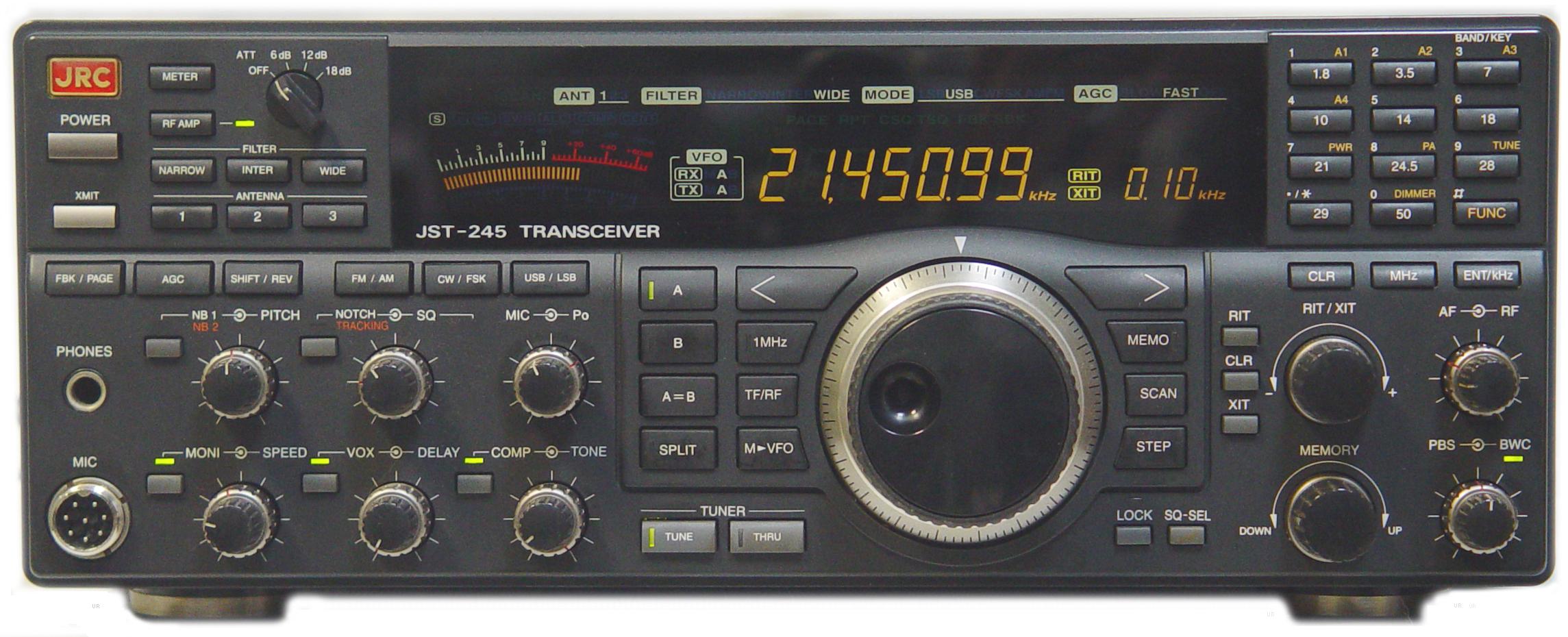 Japan Radio Company Jst 245 Jrc Jst245 Jst145