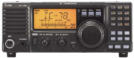 Icom IC-78, Icom 78 HF Transceiver