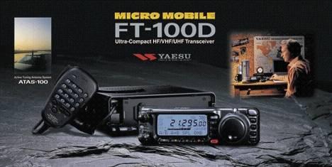 Yaesu FT-100D, Yaesu FT100D Amateur Transceiver