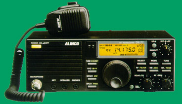 Alinco dx 77t hf transceiver nice radio and works well for 160 meter dx window