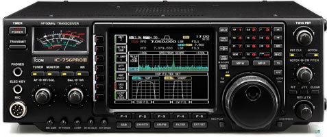 Image result for ICOM IC-756 PRO III