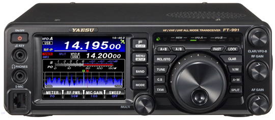 Yaesu FT-991 A huge step for mankind….