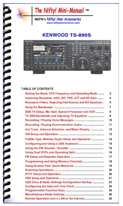 Kenwood TS-890 TS-890S Transceiver TS890