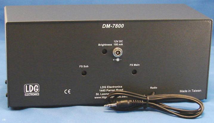 LDG DM7800 Meter for Icom IC-7800