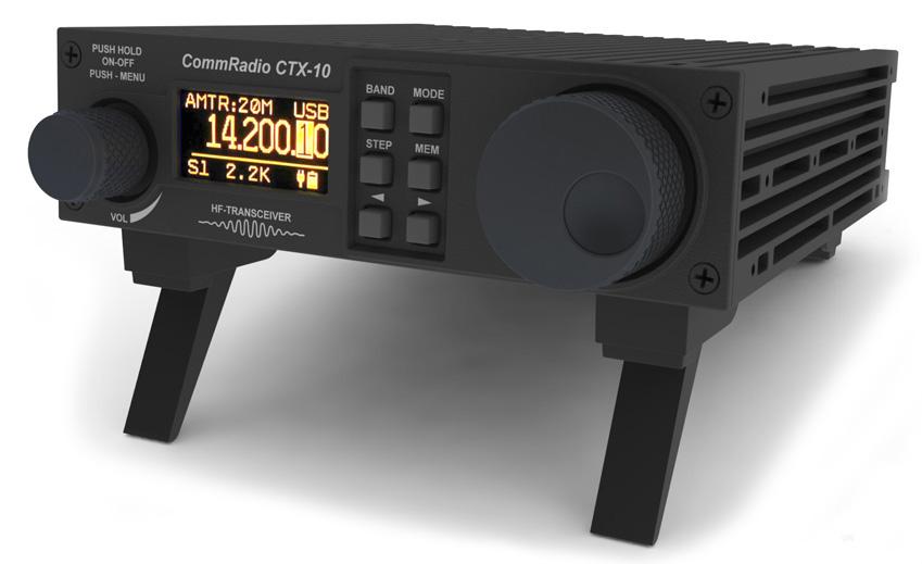 CommRadio CTX-10, Comm Radio CTX-10 transceiver