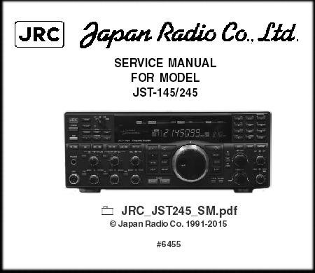 Japan Radio Company JST-245, JRC JST245 JST145