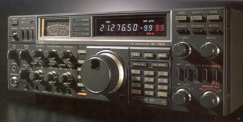 неисправности Icom IC-765