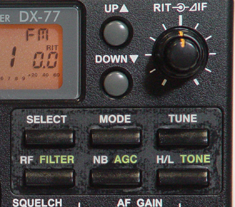 Alinco dx 77 hf transeiveralinco dx 70 hf transceiver for 160 meter dx window