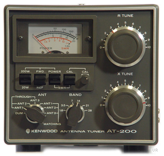 kenwood at 200 antenna tuner at200