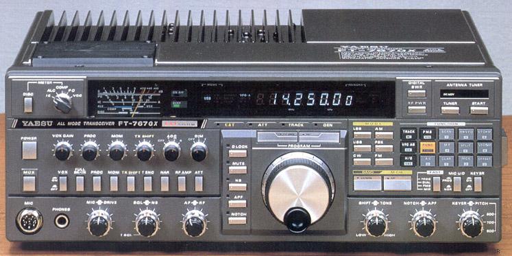 Yaesu FT-767GX, Yaesu FT767GX