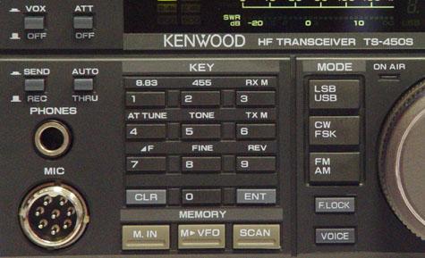 Kenwood TS-450S, Kenwood TS450