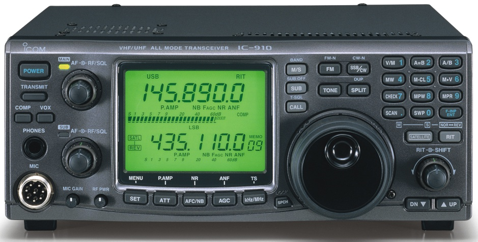 Icom 910H Amateur Multi-Mode VHF UHF Transceiver IC-910H UX-910
