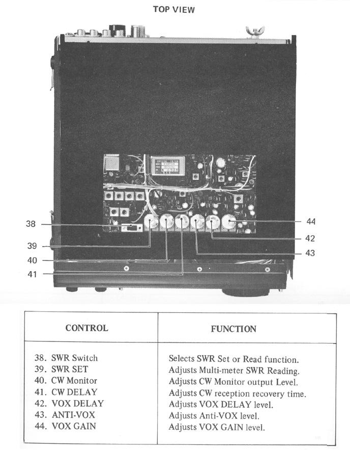 Icom 211 Transceiver, Icom IC-211, EX1, EX2