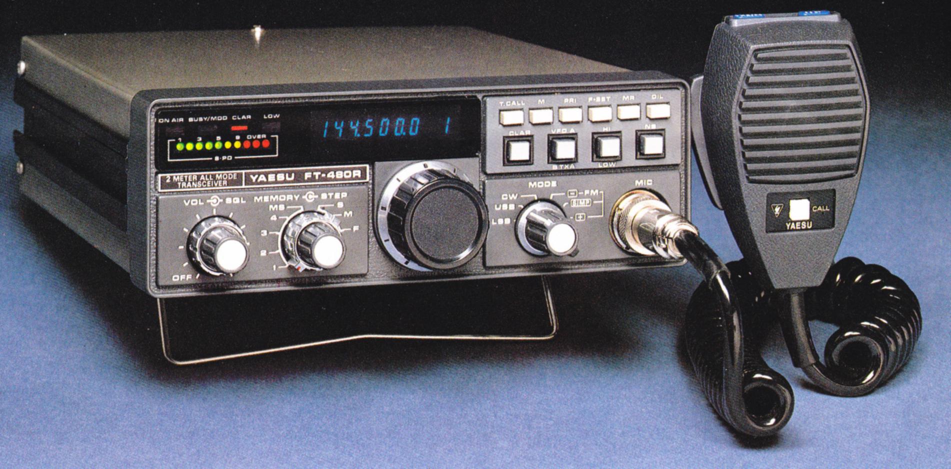 yaesu ft 480r multimode transceiver