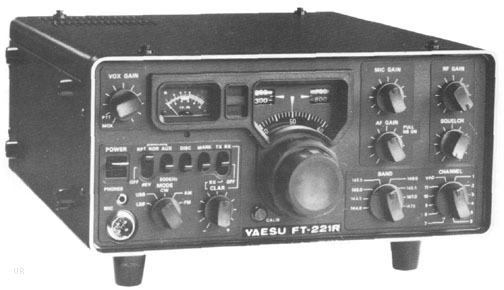 Yaesu FT-221R 2 Meter Transceiver