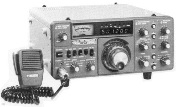 Schemi Elettrici Radio Cb : Yaesu ft rd meter transceiver