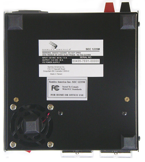 Samlex Sec 1235m Sec1235m Power Supply